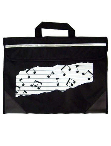 Mapac Music Bag Duo - Music Notes - Black