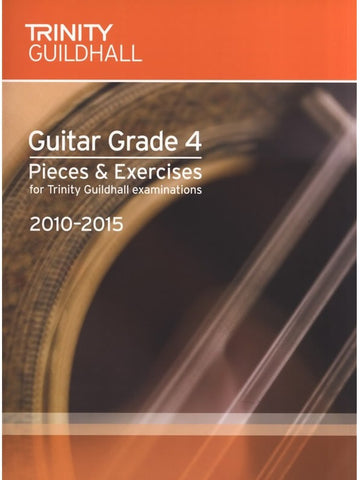 Trinity Guildhall: Guitar Pieces + Exercises 2010-2015 -  Grade 4