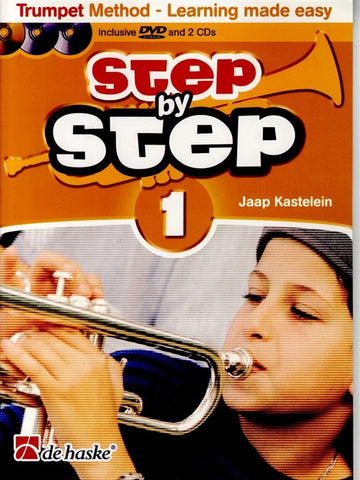 Step by Step 1 - Trumpet (with CD)