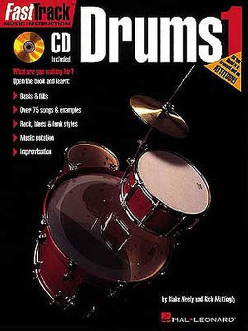 Fast Track: Drums 1 (with CD)