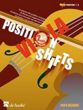 Nico Dezaire: Viola Position Shifts (with CD)
