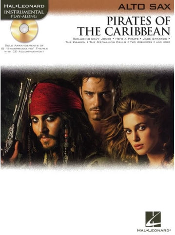 Pirates of the Caribbean - Alto Saxophone (with CD)