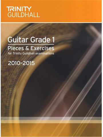 Trinity Guildhall: Guitar Pieces + Exercises 2010-2015 - Grade 1