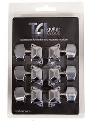 TGI Acoustic Machine Heads - Chrome - 3L/3R