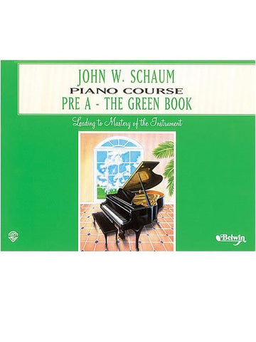 Schaum Piano Course - Pre-A - The Green Book