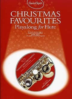 Guest Spot: Christmas Favourites Playalong for Flute (with CD)