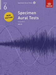 ABRSM Specimen Aural Tests (from 2011) - Grade 6 (with CD)
