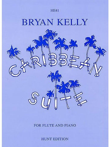 B. Kelly: Caribbean Suite - Flute + Piano