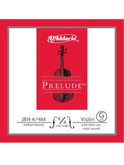 D'Addario Prelude Violin String - Medium - 4/4 - G (4th)