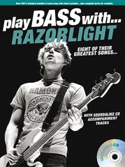 Play Bass With... Razorlight (Bass Guitar TAB + CD)