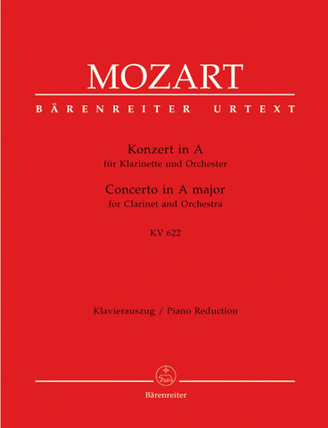 W.A. Mozart: Clarinet Concerto in A Major KV 622 - Clarinet (Bb) + Piano