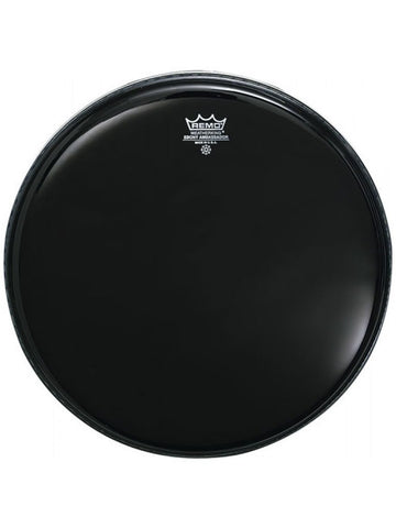 Remo Ambassador Bass Drum Head - Ebony - 20''