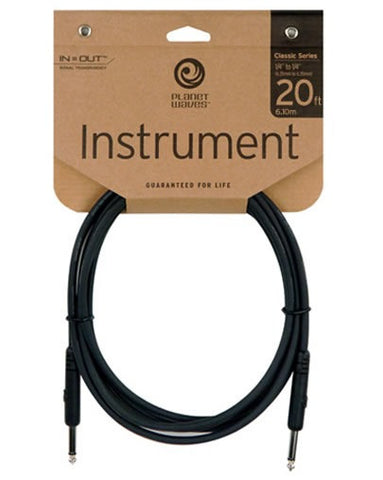 Planet Waves Classic Series Instrument Lead - 20ft