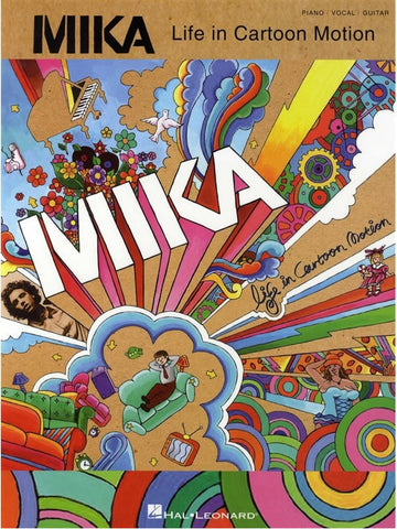 Mika: Life in Cartoon Motion - Piano, Vocal + Guitar
