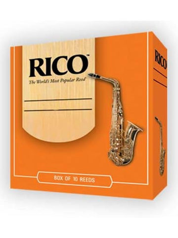 Rico Tenor Saxophone Reeds - Size 1.5 (box of 10)