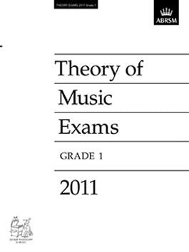 ABRSM Theory of Music Exam Papers 2011 - Grade 1