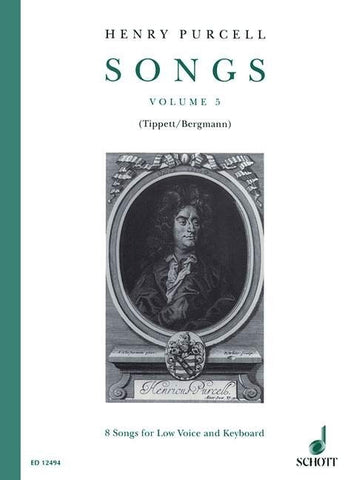Henry Purcell: Songs Volume 5 (Low Voice/Piano)