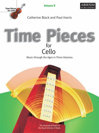 Time Pieces for Cello + Piano - Volume 3