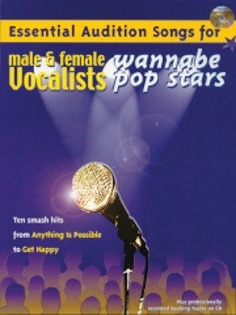 Essential Audition Songs (Male + Female) - Wannabe Pop - PVG