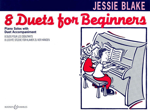 8 Duets for Beginners - Piano Duet
