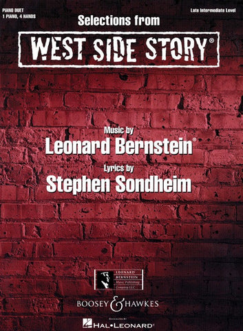 Selections from West Side Story - Piano Duet