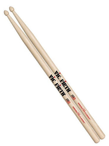 Vic Firth American Classic Drum Sticks - Nylon Tip - 5AN