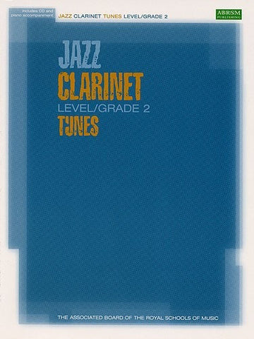 ABRSM Jazz - Clarinet Tunes Level/Grade 2 (with CD)