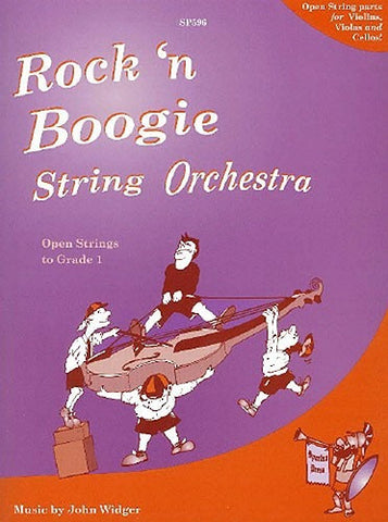 John Widger: Rock 'n' Boogie String Orchestra (Flexible String Ensemble)