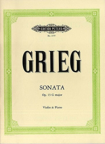 E. Grieg: Sonata No.2 In G Major Op.13 - Violin + Piano