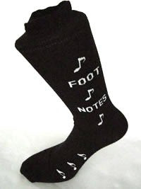 Mens Socks - 'Footnotes'