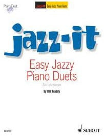 Jazz-it - Easy Jazzy Piano Duets