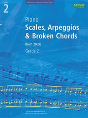 ABRSM Grade 2 Piano Scales + Arpeggios (from 2009)