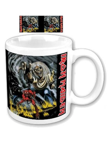 Iron Maiden Boxed Mug: Number of the Beast