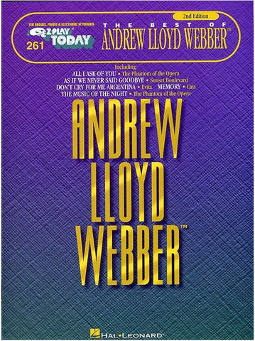 E-Z Play Today 261: The Best of Andrew Lloyd Webber - Keyboard