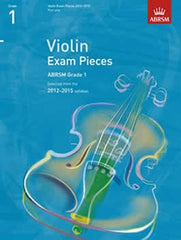 ABRSM Selected Violin Exam Pieces - Grade 1 2012-2015 - Violin Part Only