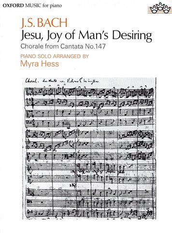 J.S. Bach: Jesu, Joy of Man's Desiring - Piano Solo