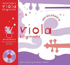 Abracadabra Viola Beginner - Pupils Book (with CD)
