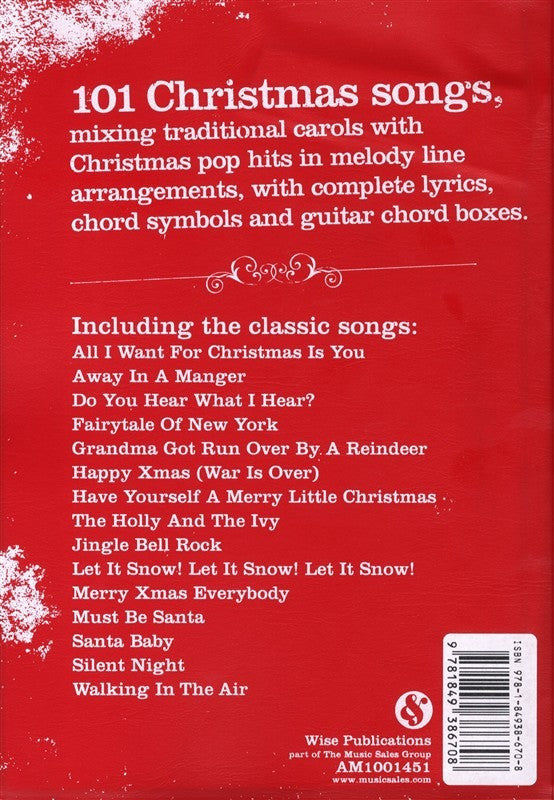 All I Want For Christmas Is You Lyrics.The Gig Songbook Christmas Songs Melody Lyrics Chords