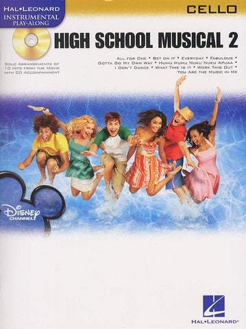 Hal Leonard Instrumental Play-Along: High School Musical 2 (Cello + CD)