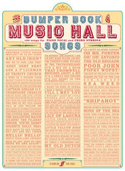 The Bumper Book of Music Hall Songs - Piano, Vocal + Guitar