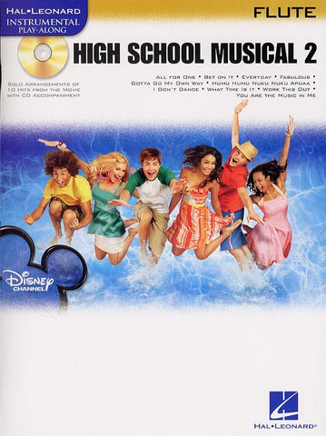 Hal Leonard Instrumental Play-Along: High School Musical 2 (Flute + CD)