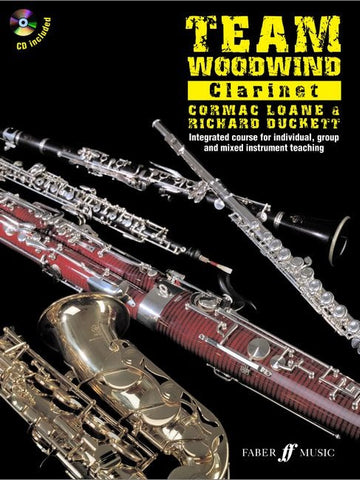 Team Woodwind Clarinet (with CD)