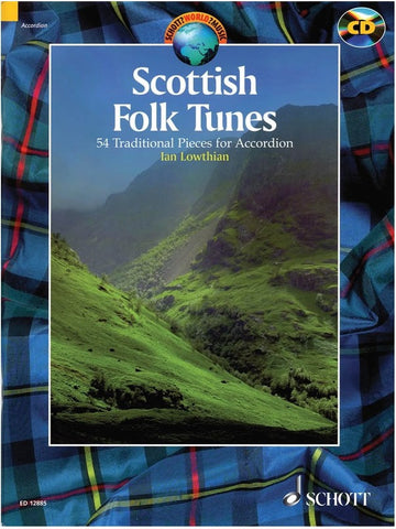 Scottish Folk Tunes for Accordion (with CD)
