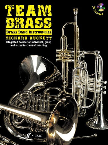 Team Brass - Brass Band Instruments (with CD)