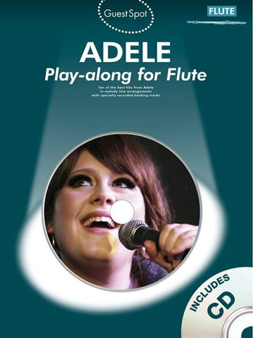 Guest Spot: Adele Play-along for Flute (with CD)