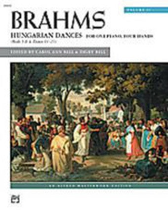 Brahms - Hungarian Dances - Volume 2 - Piano