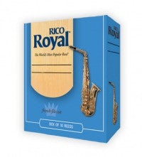 Rico Royal Alto Saxohone Reeds - Size 4 (Box of 10)