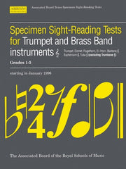 ABRSM Specimen Sight-Reading Tests for Trumpet (+ Brass Band Instruments) - Grades 1-5