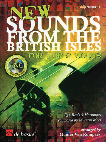 New Sounds from the British Isles for 1 or 2 violins (with CD)