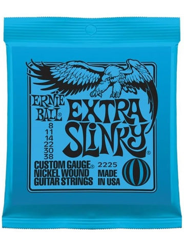 Ernie Ball Extra Slinky Electric Guitar Strings (8-38) - Set